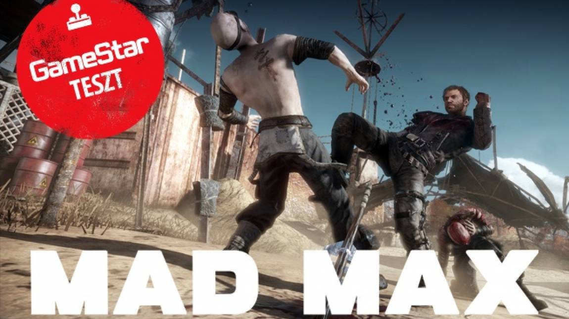 Mad Max teszt - sivatagi show bevezetőkép