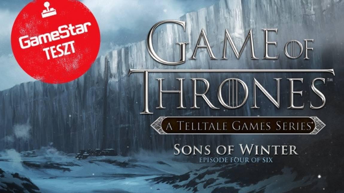 Game of Thrones: Sons of Winter teszt - az ördög a részletekben lakozik bevezetőkép