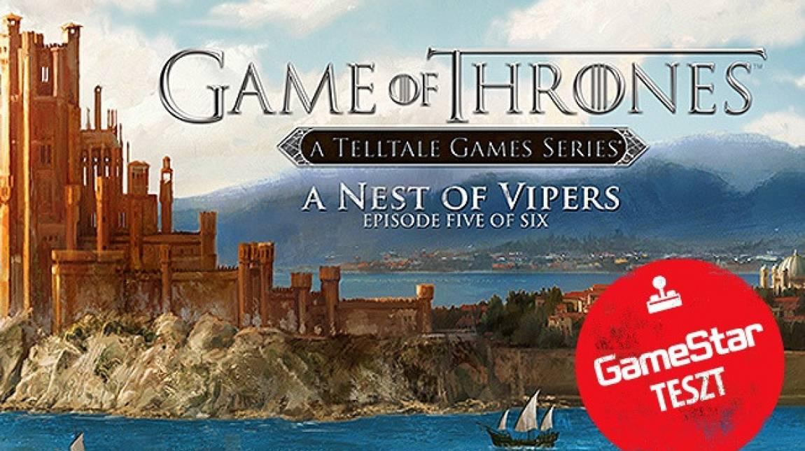 Game of Thrones: A Nest of Vipers teszt - közeleg a vég bevezetőkép