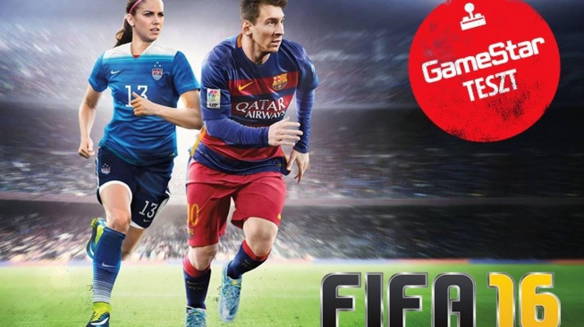 FIFA 16 teszt - lányok a pályán bevezetőkép