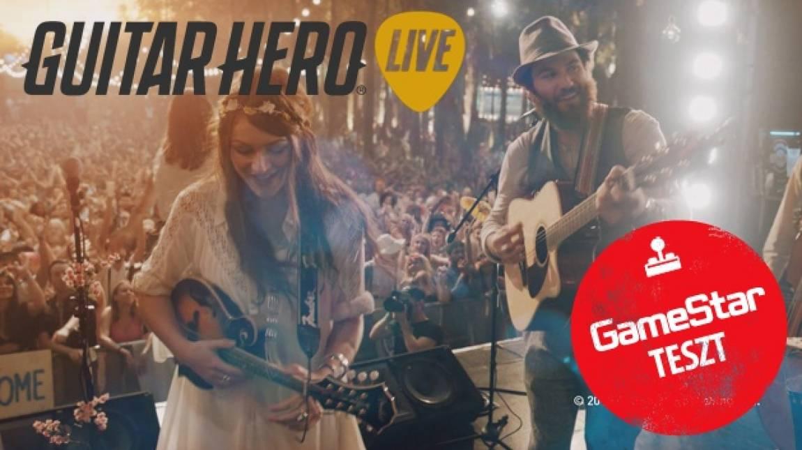 Guitar Hero Live teszt - tizenöt óra hírnév bevezetőkép