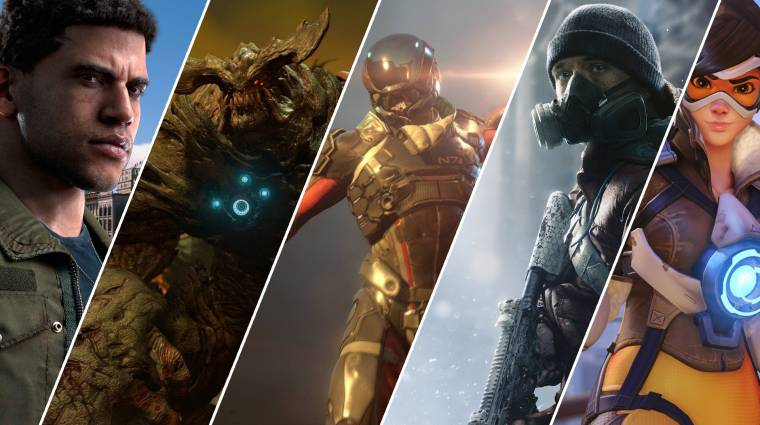 A 30 legjobban várt játék 2016-ban bevezetőkép