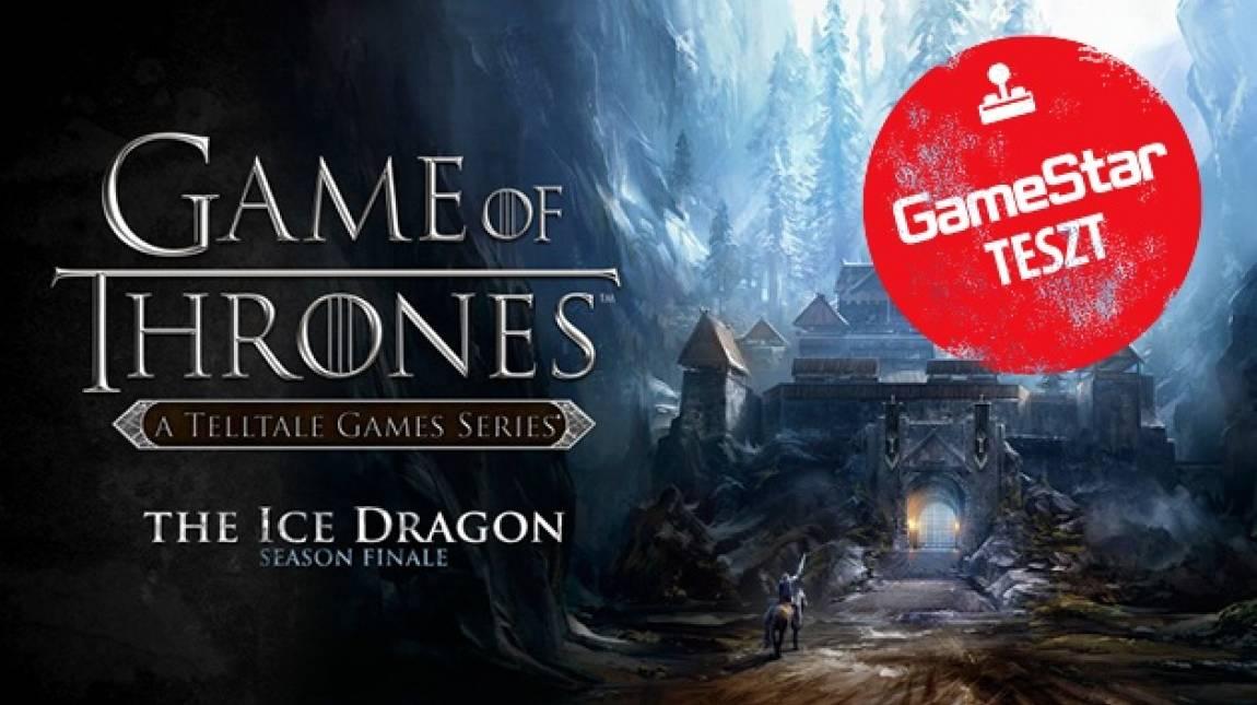 Game of Thrones: The Ice Dragon teszt - itt a vége? bevezetőkép