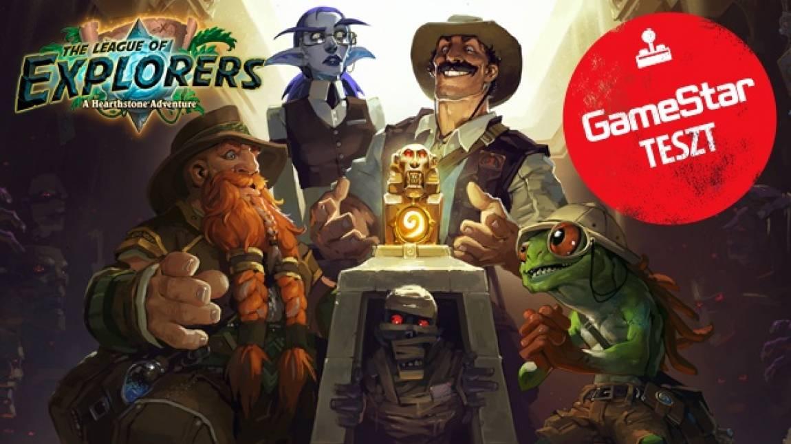 Hearthstone: The League of Explorers teszt - kalandra fel! bevezetőkép