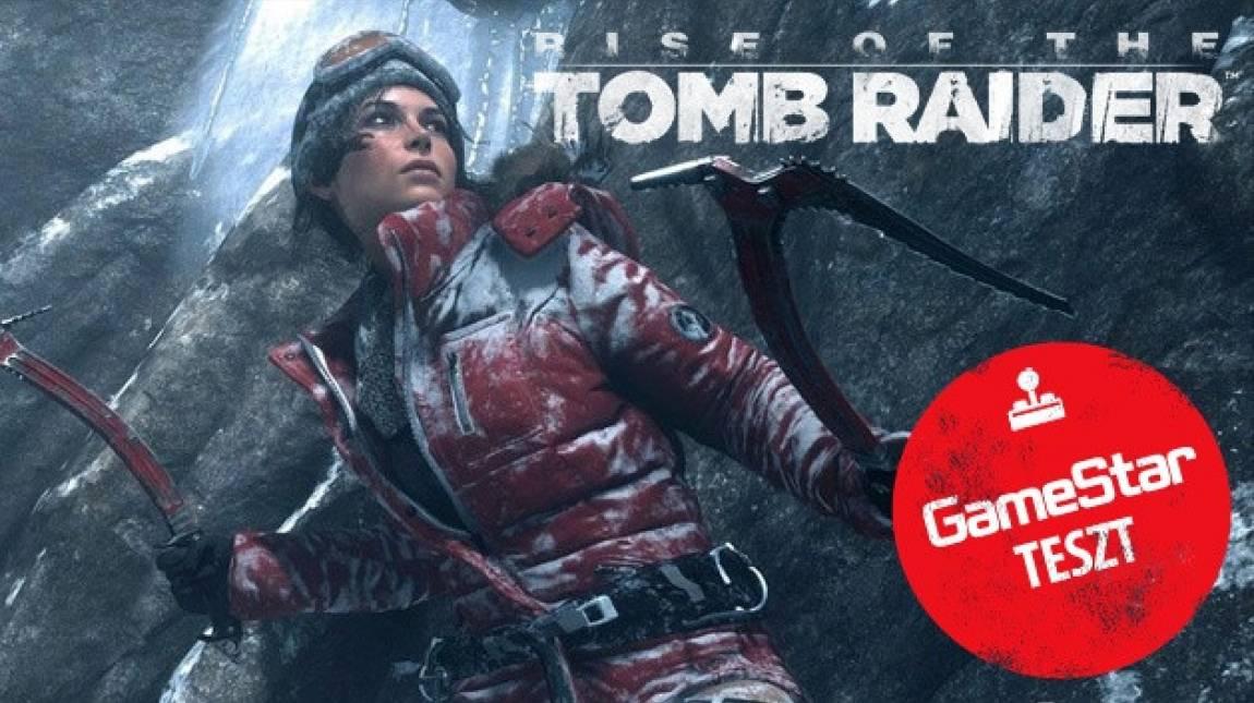 Rise of the Tomb Raider PC teszt - Lara, te csodás bevezetőkép