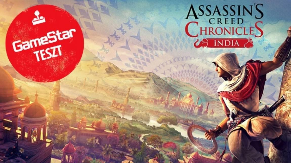 Assassin's Creed Chronicles: India teszt - nyugatabbra sem jobb a helyzet bevezetőkép