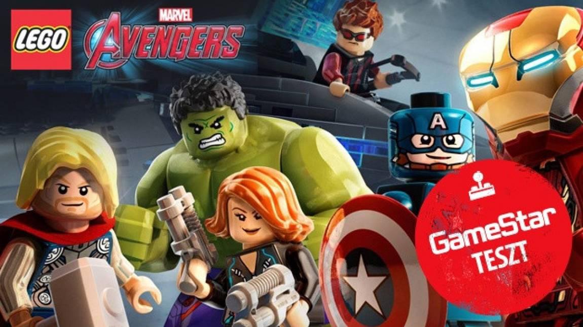 Lego Marvel's Avengers teszt - kockásított Bosszúállók bevezetőkép