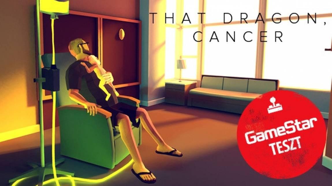 That Dragon, Cancer teszt - egyszerre csodálatos és szomorú bevezetőkép