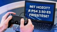 PlayStation 4 játékok PC-n, események tervezése - mit hozott a PS4 3.50-es frissítése? kép