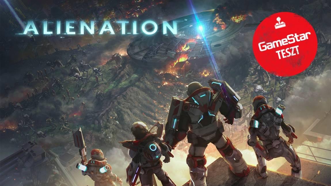 Alienation teszt - űrlényeket halomra bevezetőkép
