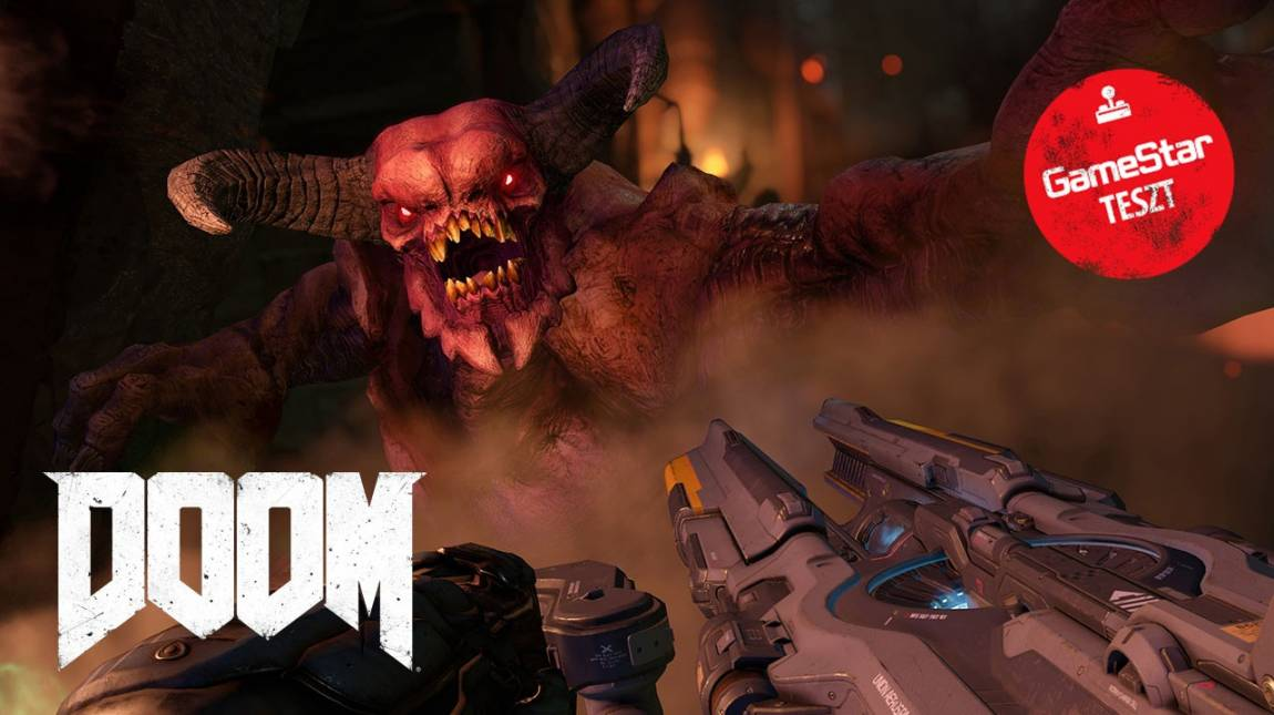 Doom teszt - pokol, te csodás bevezetőkép