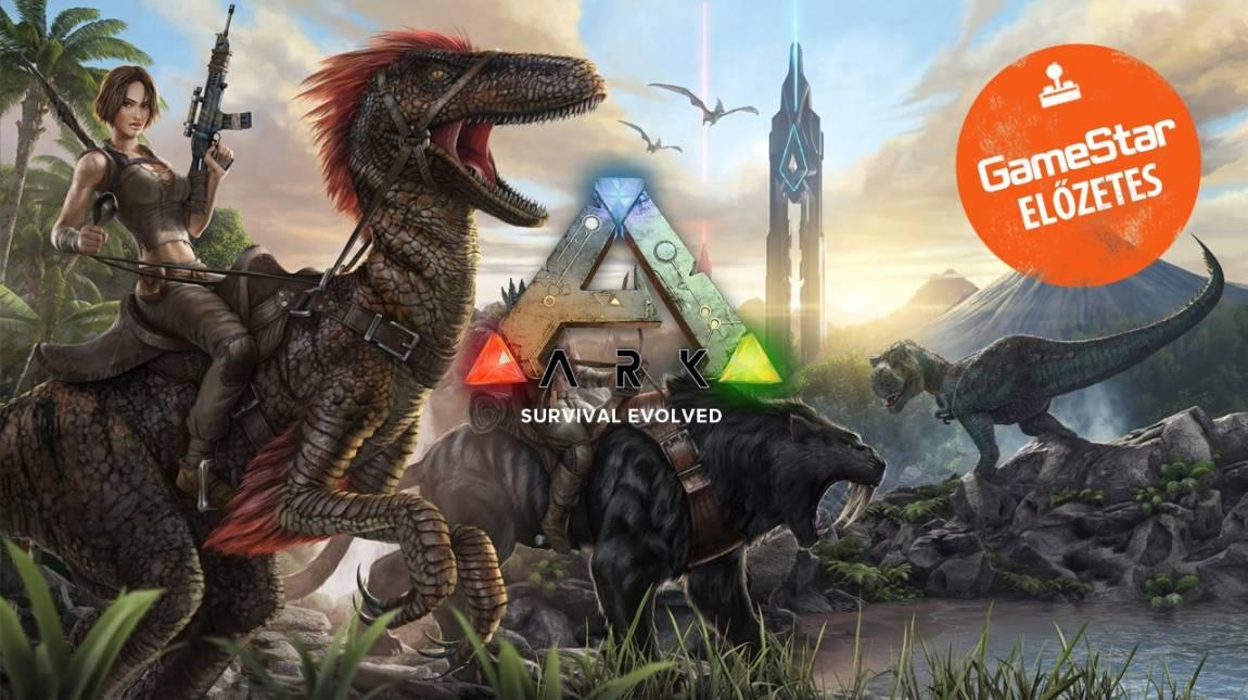 Ark: Survival Evolved előzetes - dinó jó barát bevezetőkép