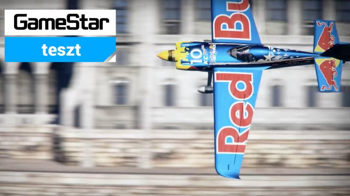 Red Bull Air Racing: The Game teszt - nyaktörő száguldás 20 méteren bevezetőkép