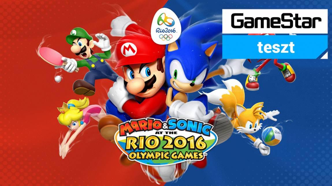 Mario & Sonic at the Rio 2016 Olympic Games teszt - sportolni továbbra is mókás bevezetőkép