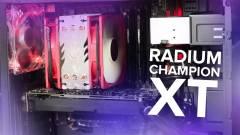 Videón a felsőkategóriás Radium Champion XT kép