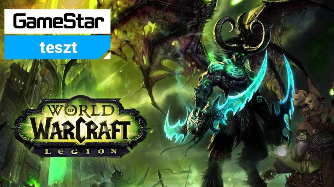 World of Warcraft: Legion teszt - már megint démon a szomszédom bevezetőkép