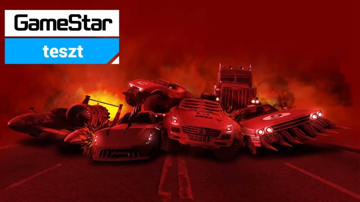 Carmageddon: Max Damage teszt - vér és benzingőz bevezetőkép