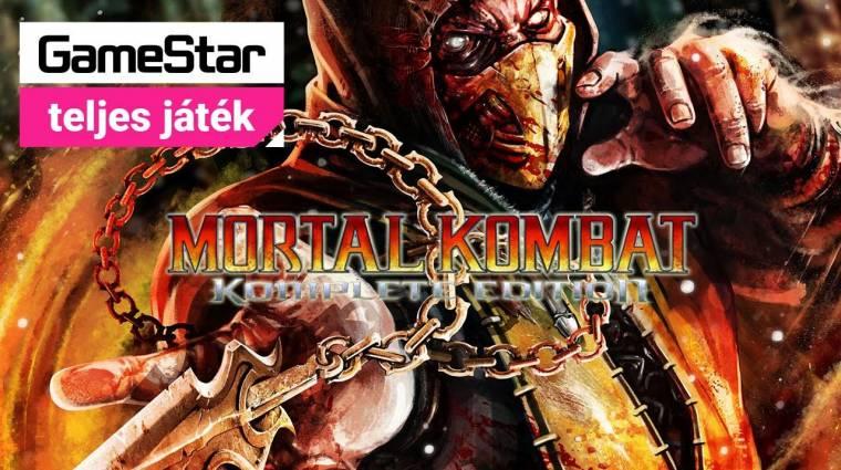 Mortal Kombat Komplete Edition - a 2016/10-es GameStar teljes játéka bevezetőkép