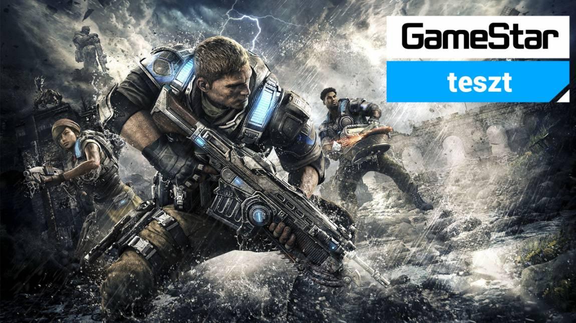 Gears of War 4 teszt - újra szól a Lancer bevezetőkép