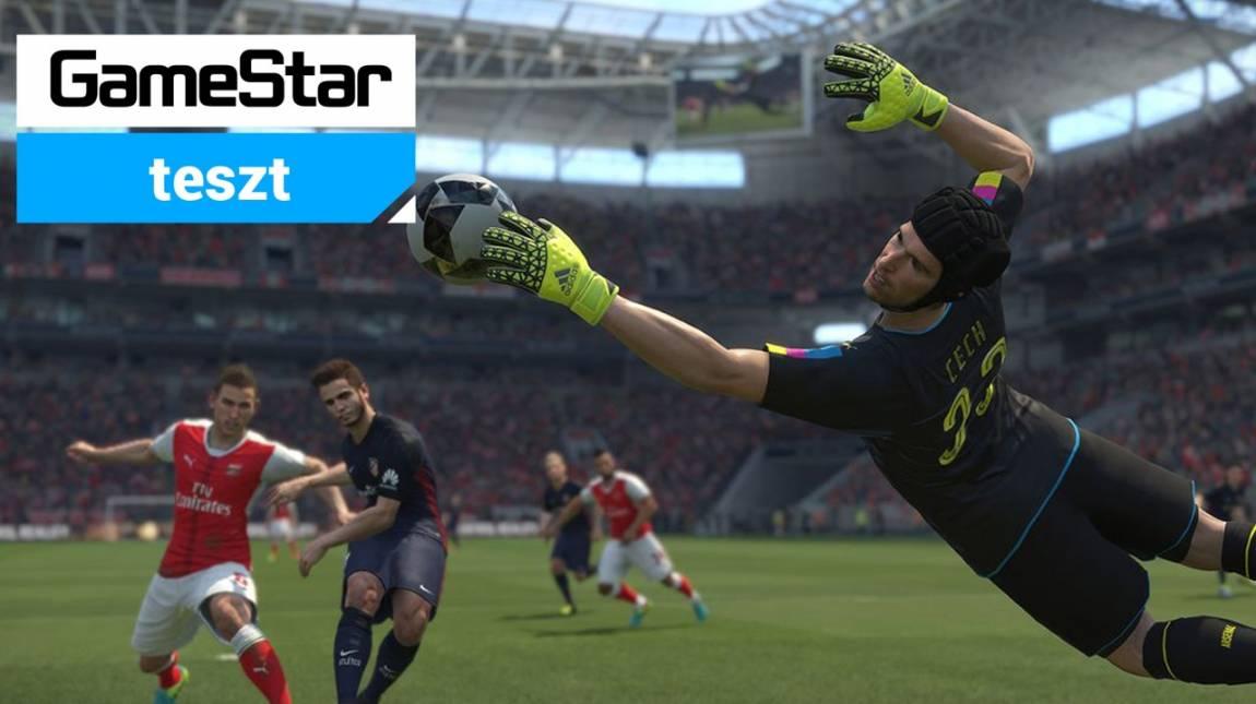 Pro Evolution Soccer 2017 teszt - labdába rúghat bevezetőkép