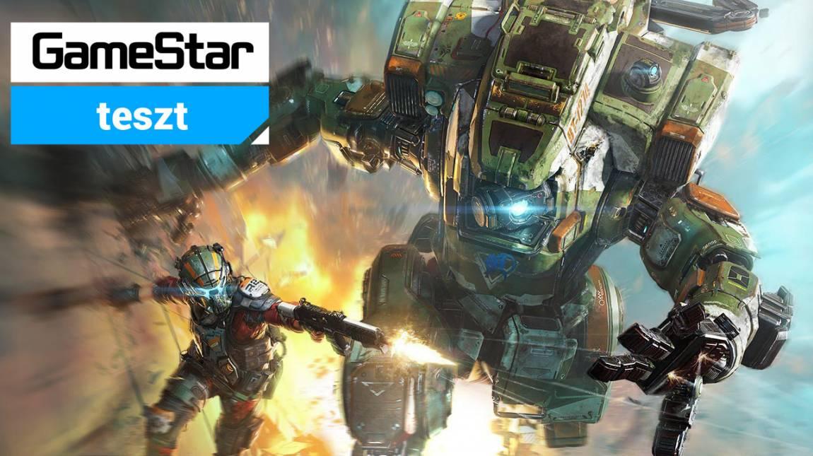 Titanfall 2 teszt - titánok harca bevezetőkép