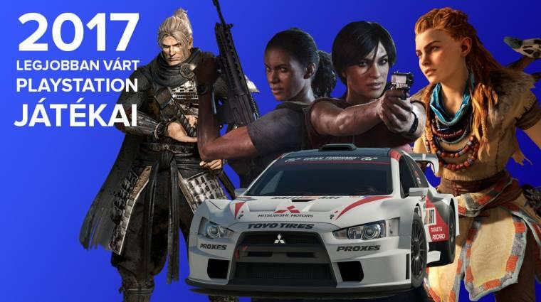 2017 legjobban várt PlayStation játékai bevezetőkép