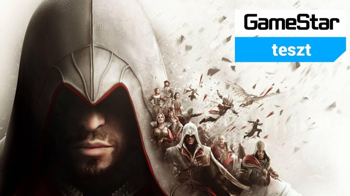 Assassin's Creed: The Ezio Collection teszt - a mester bizony megöregedett bevezetőkép