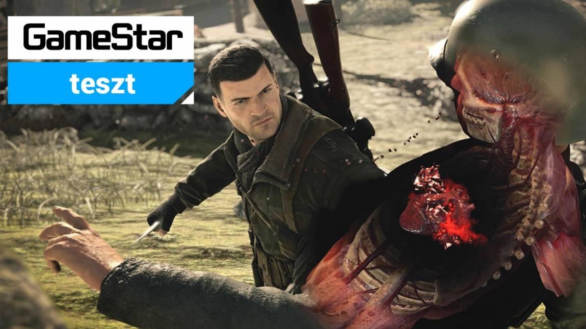 Sniper Elite 4 teszt - biológia óra helyett bevezetőkép