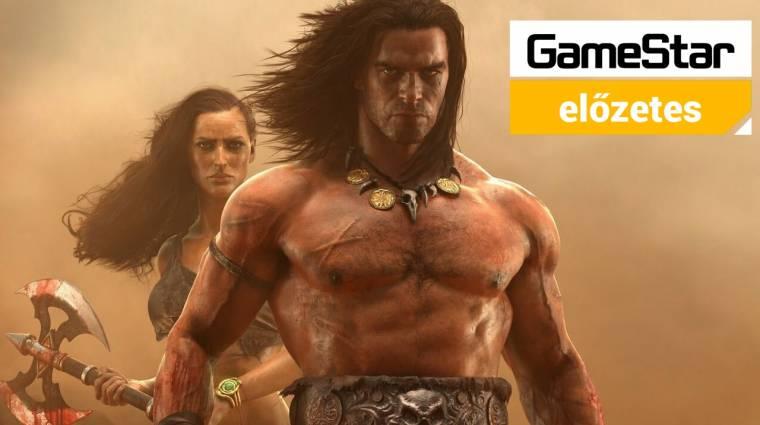 Conan Exiles előzetes - amikor Conan meglengeti a szerszámát bevezetőkép