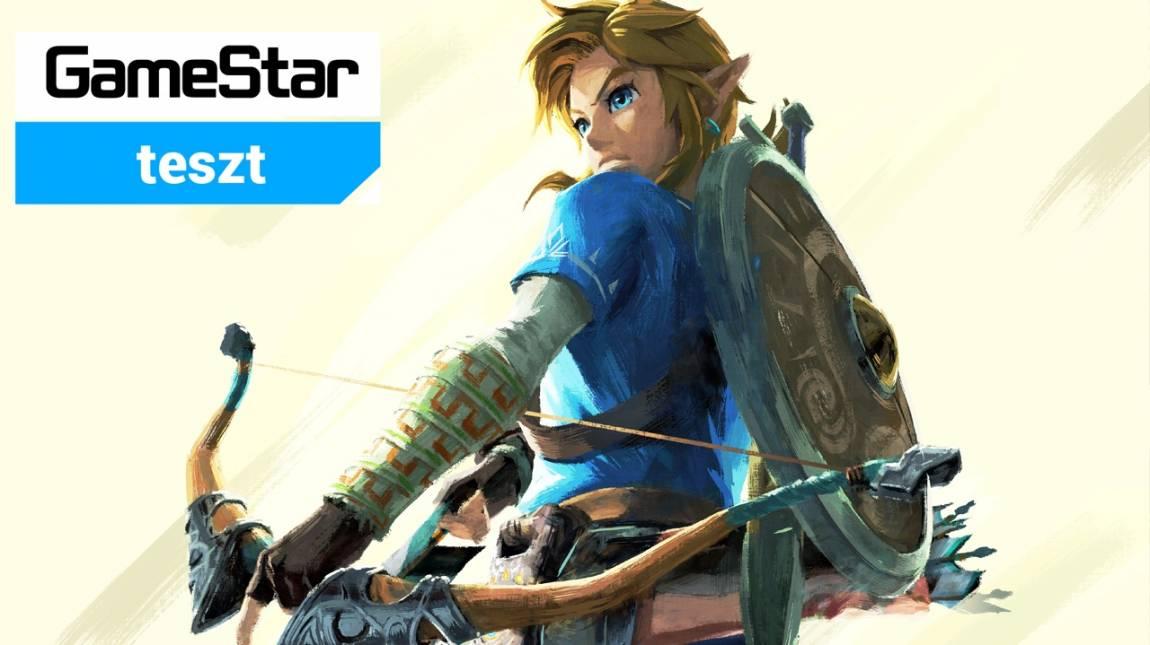 The Legend of Zelda: Breath of the Wild teszt - nem lehet belekötni bevezetőkép
