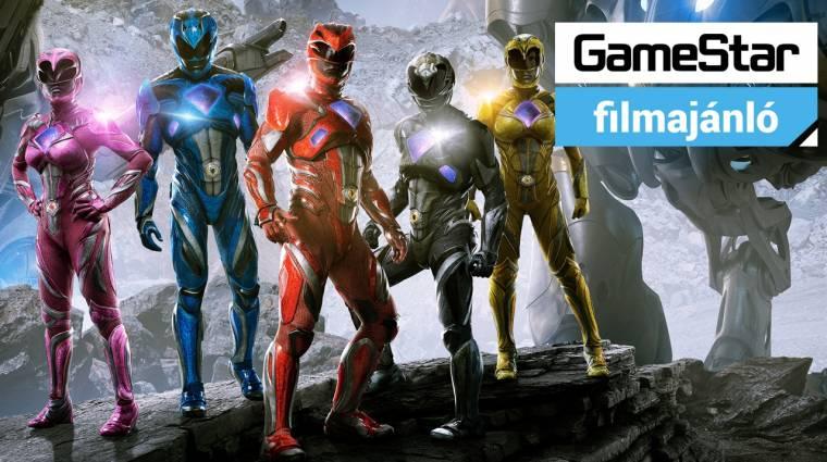 GameStar Filmajánló - Power Rangers, Brazilok és Vén rókák bevezetőkép