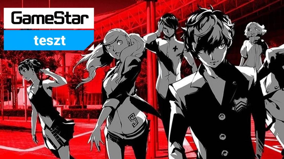 Persona 5 teszt - csalogassuk elő a bennünk élő tinit! bevezetőkép