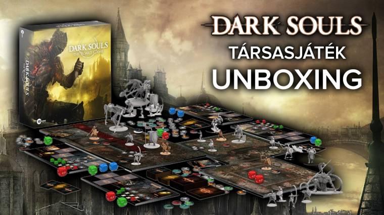 Dark Souls társasjáték unboxing - kibontottuk a világ egyik legszebb társasát bevezetőkép