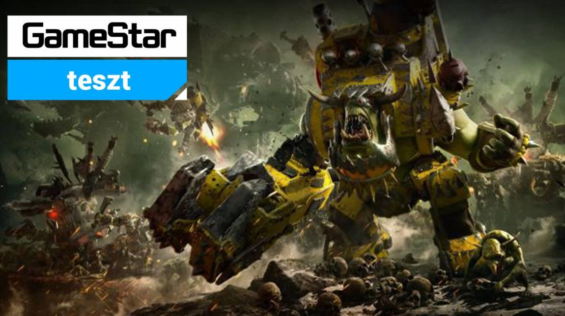 Warhammer 40,000: Dawn of War III teszt - OK orkok bevezetőkép