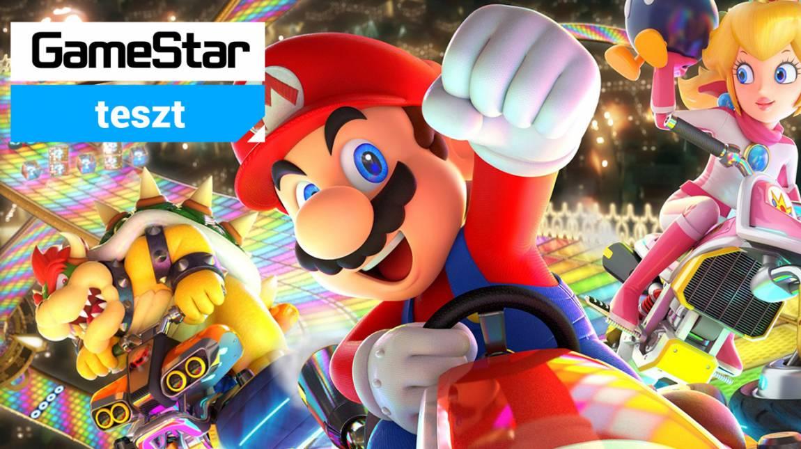 Mario Kart 8 Deluxe teszt - újra kísért a Blue Shell bevezetőkép