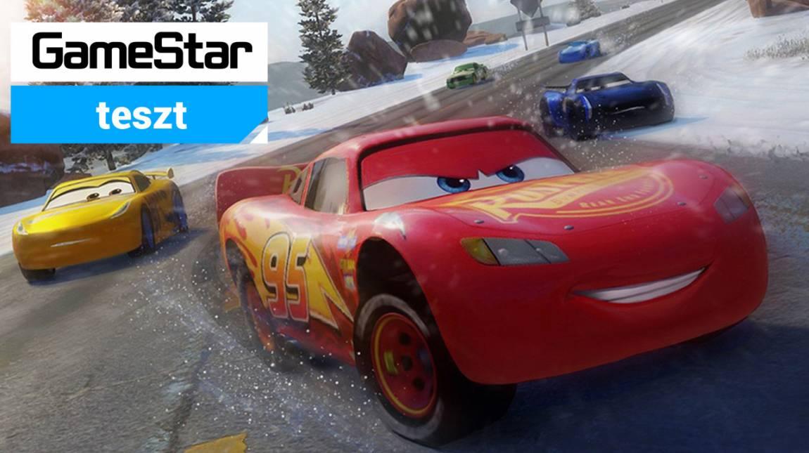 Cars 3: Driven to Win teszt - Villám vagyok! bevezetőkép