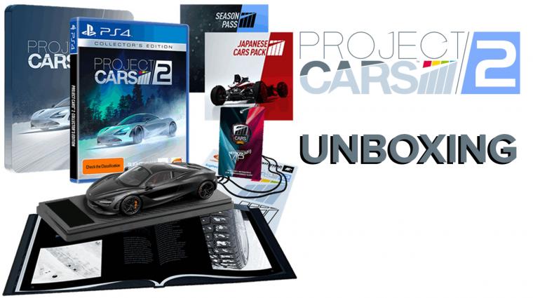 Project Cars 2 Collector's Edition Unboxing - ilyen az év legjobban várt autós játékának gyűjtőije bevezetőkép