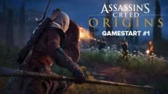 Assassin's Creed Origins GameStart 1. rész - meglátogatjuk Egyiptomot kép