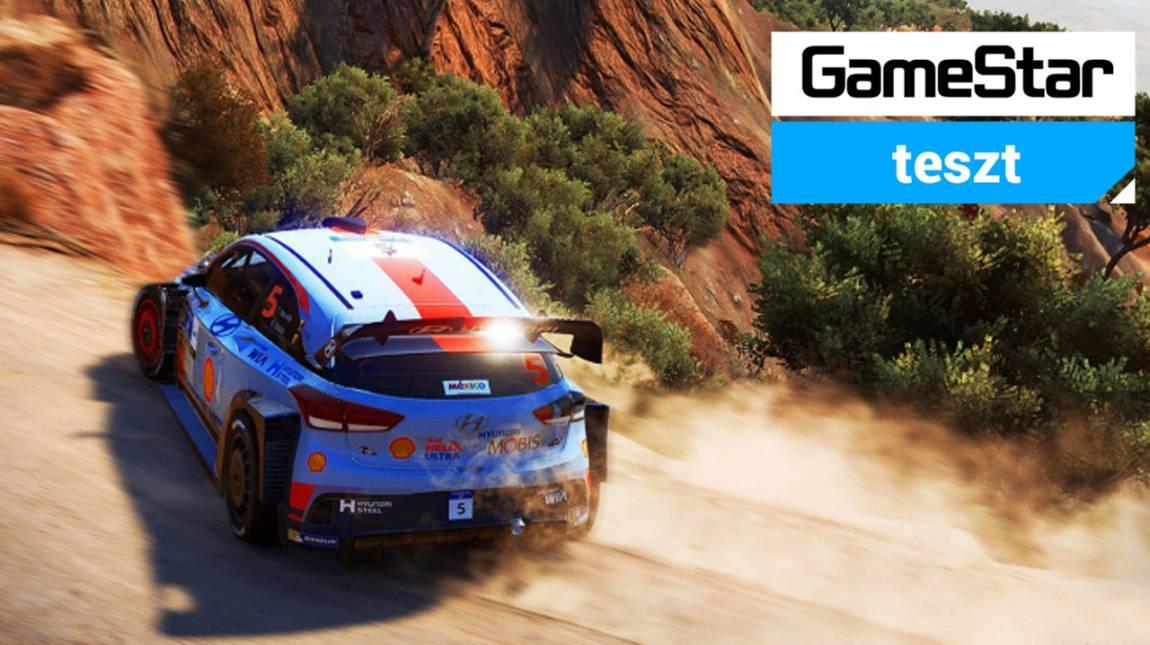 WRC 7 teszt - nem mindig a hivatalos a legjobb bevezetőkép