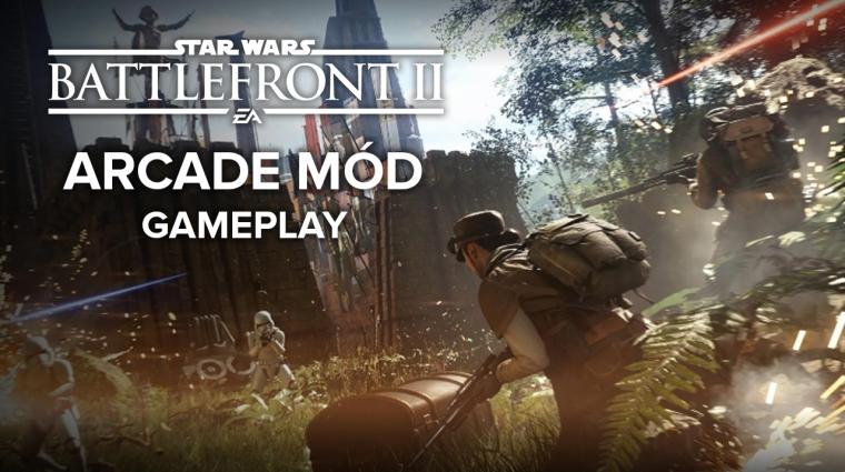 Star Wars Battlefront 2 - videón az Arcade mód bevezetőkép