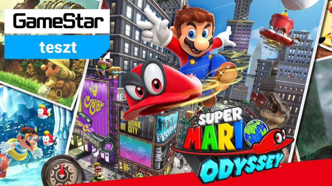 Super Mario Odyssey teszt - van új a hold alatt bevezetőkép