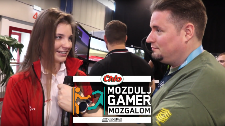 Több népszerű videós és egy profi autóversenyző is sportolt a PlayIT-es Mozdulj Gameren bevezetőkép