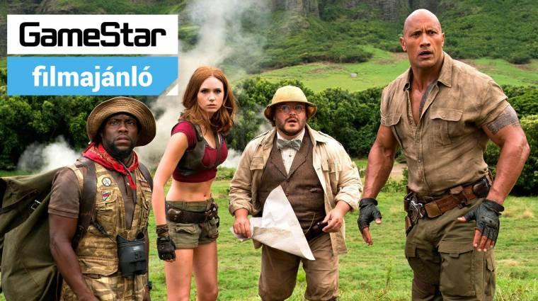 GameStar Filmajánló - Jumanji: Vár a dzsungel, Ferdinánd és 24 óra a halálig bevezetőkép