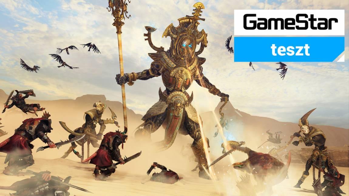 Total War: Warhammer II - Rise of the Tomb Kings teszt - sötét erők ébredése bevezetőkép