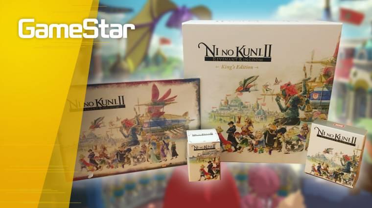Nincs még egy ilyen gyönyörű gyűjtői kiadás -  Ni No Kuni II King's Edition Unboxing bevezetőkép
