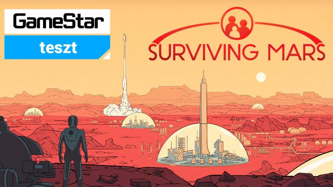 Surviving Mars teszt - vörös tájakon gázolok bevezetőkép