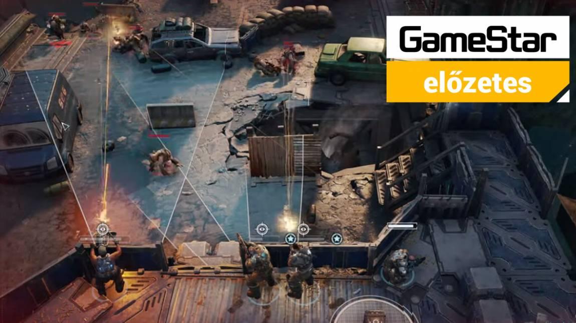 Gears Tactics előzetes  - van esélye egy körökre osztott Gears of Warnak? bevezetőkép