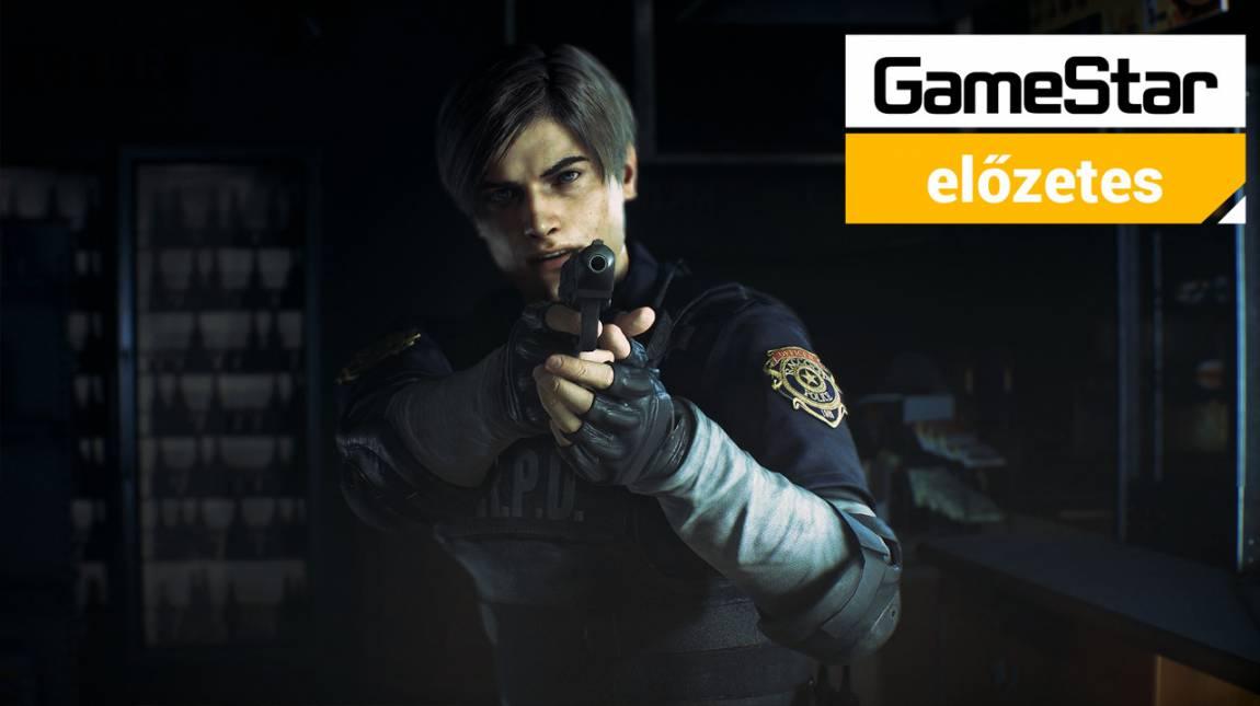 Resident Evil 2 előzetes - üdv újra Raccoon Cityben! bevezetőkép