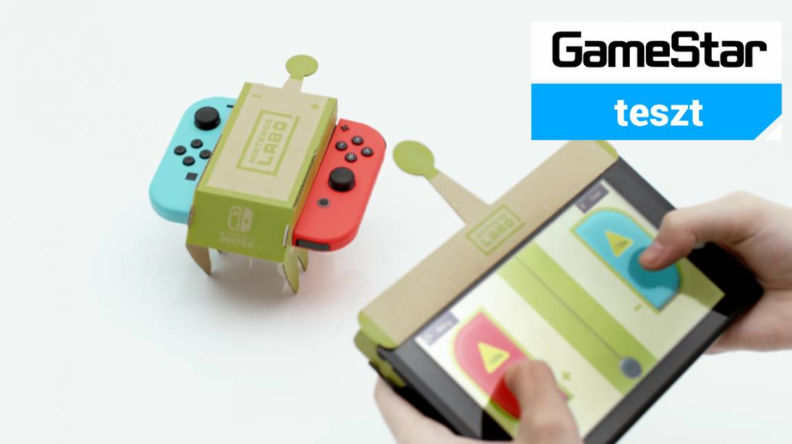 Nintendo Labo teszt - kartonból építek világot bevezetőkép