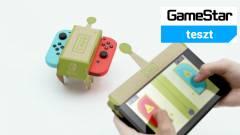 Nintendo Labo teszt - kartonból építek világot kép
